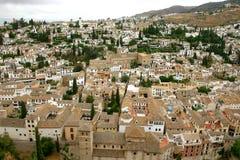 Panoramisches Granada Stockbild