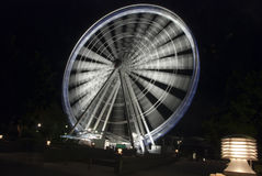 Panoramisches Rad bis zum Night, Brisbane, Australien Lizenzfreie Stockbilder