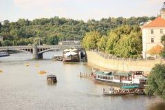 Panoramisches Sonderkommando von grünem Prag Lizenzfreies Stockfoto