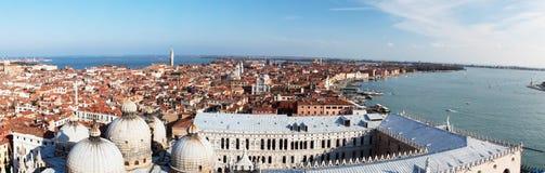 Panoramisches Venedig Stockbilder