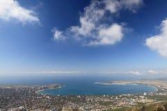 Panoramma der Gelendzik Stadt stockbild