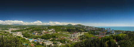 Panoramni views of Sochi Royalty Free Stock Photography