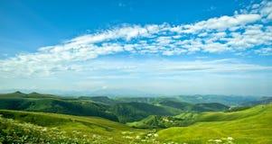 panoramy fantastyczna dolina Zdjęcia Royalty Free