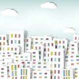 Panoramy miasteczko Zdjęcie Stock