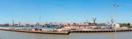 Panoramy Morski dockyard Zdjęcia Royalty Free