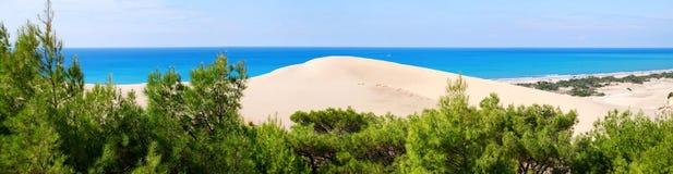 panoramy morza widok Zdjęcia Royalty Free