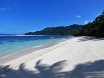 Panoramy plaża Obrazy Royalty Free