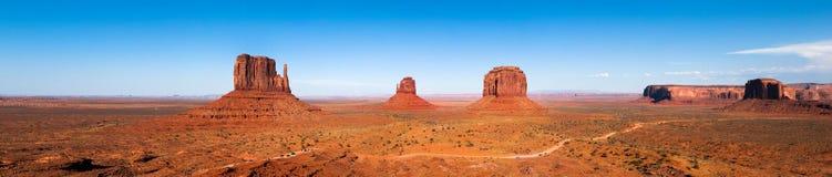 panoramy pomnikowa dolina zdjęcia royalty free