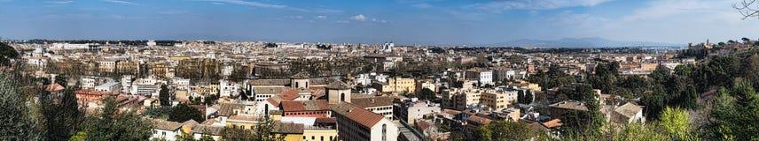 panoramy Rome linia horyzontu Obraz Stock