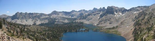 panoramy sawtooth Zdjęcia Royalty Free