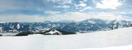 panoramy zima Fotografia Royalty Free