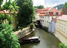 Panorana de Praga Fotografia de Stock Royalty Free