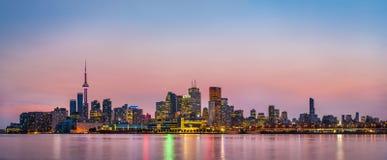 Panorana of Toronto, Canada Stock Photos