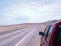 Panorera-Amerikan huvudväg Royaltyfri Foto