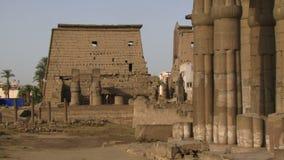 Panorera skottet av Luxor stock video