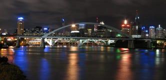 panorma города жуткое Стоковая Фотография