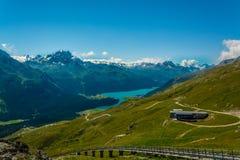 Panorma de la montaña Imagenes de archivo