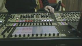 Panorma DJ equipment stock video footage