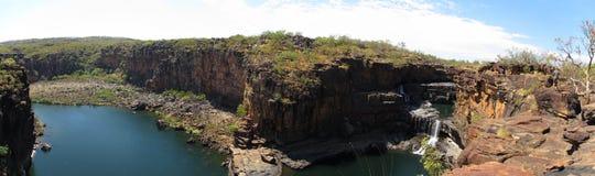 Panorma - Mitchell falls, kimberley, west australia Stock Photos