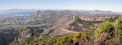 Panorma of Silvermine Stock Photo