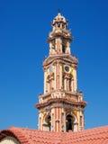 Panormitis monastery bell tower Stock Image