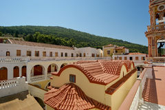 Panormitis monastery, Symi island, Greece Royalty Free Stock Images