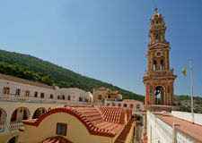 Panormitis monastery, Symi island, Greece Royalty Free Stock Photography