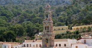 Panormitis monastery, Symi island, Greece Stock Images