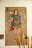 Panormitis monastery, Symi island, Greece Stock Photo