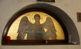 Panormitis monastery, Symi island, Greece Stock Photos