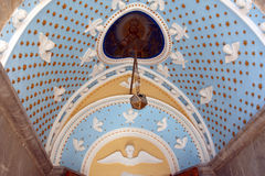 Panormitis monastery, Symi island, Greece Stock Photos