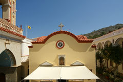 Panormitis monastery, Symi island, Greece Royalty Free Stock Photo