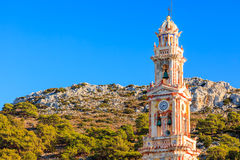 Panormitis Symi Greece Royalty Free Stock Images