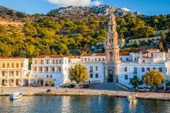 Panormitis Symi Greece Royalty Free Stock Photos