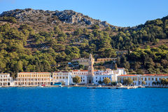 Panormitis Symi Greece Stock Photos