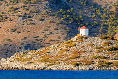 Panormitis Symi Greece Royalty Free Stock Photography
