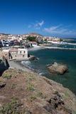 Panormo, Крит, Греция стоковое изображение rf
