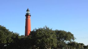 Panoroma view of Ponce Inlet Florida stock video