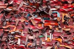 Panos de couro marroquinos Fotos de Stock