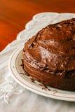 Panpepato jest typowym deserem od Tuscany Zdjęcie Stock
