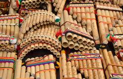 Panpipes Royalty Free Stock Images