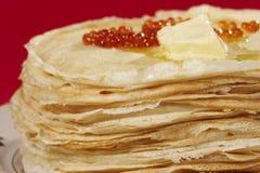 Panqueca apetitosa foto de stock royalty free