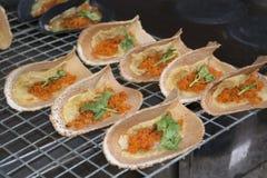 Panqueca friável tailandesa Imagem de Stock