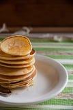 Panquecas perfumadas para o café da manhã Imagem de Stock Royalty Free