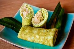Panquecas tailandesas Fotografia de Stock Royalty Free