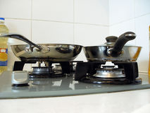 Pans Stock Photography