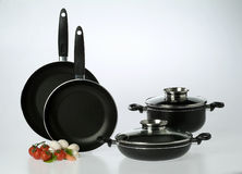 Pans set Royalty Free Stock Photos