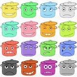 Pans smilies Royalty Free Stock Photos