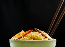 Pansit in Bowl Stock Image