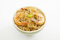 Pansit in Bowl Stock Photos